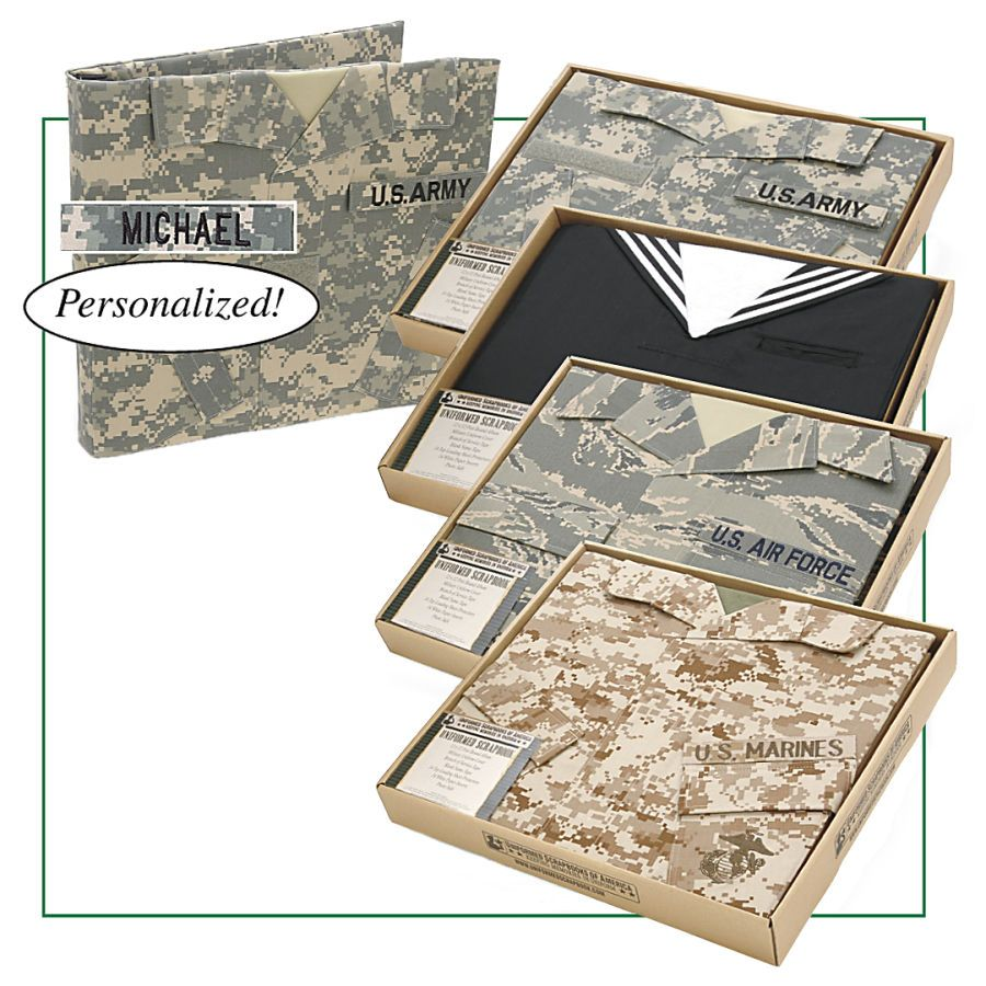 Personalized Military Scrapbook - Gifts & Accessories at Catalog Favorites