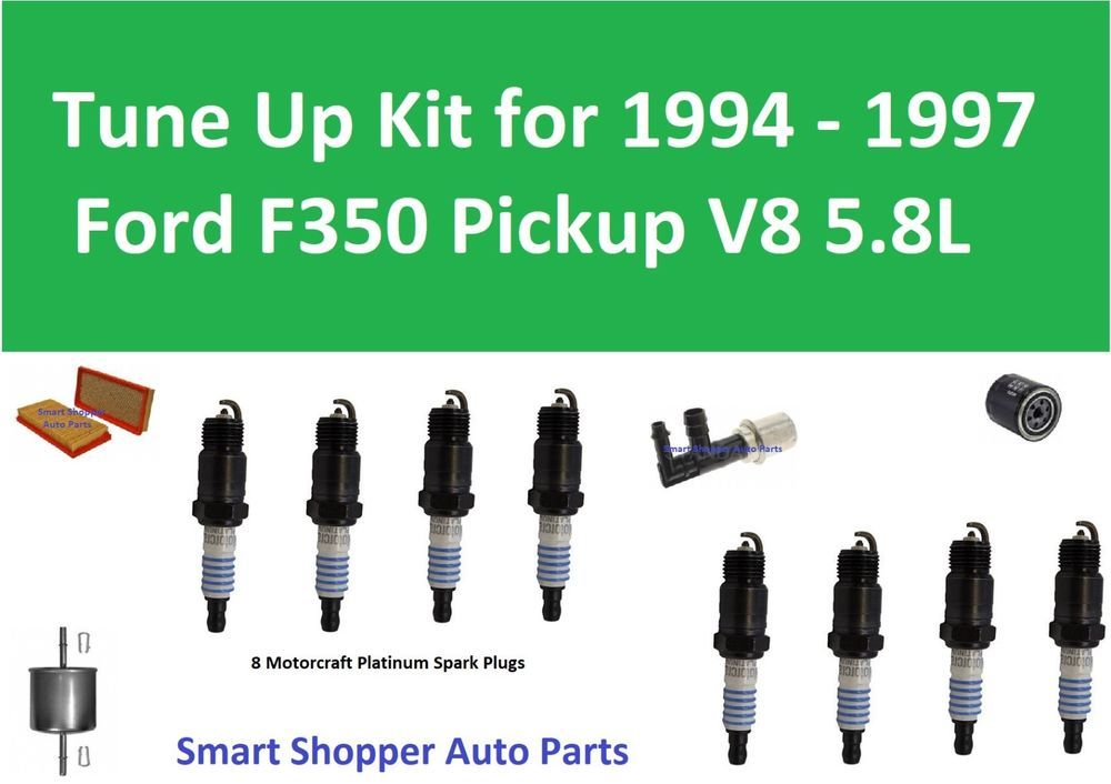 Spark Plugs Oil Air Fuel Filter Tune Up For 1994 1995 1996 1997