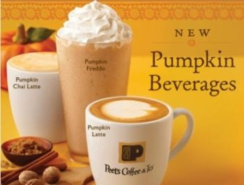 Peets Pumpkin Chai Latte Is So Much Better Than A Psl From Starbucks And The Aroma Is Amazing Love Pumpkin Chai Pumpkin Latte Chai Latte
