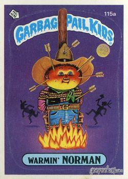 Geepeekay Com Original Series 3 Gallery Garbage Pail Kids Cards Pail