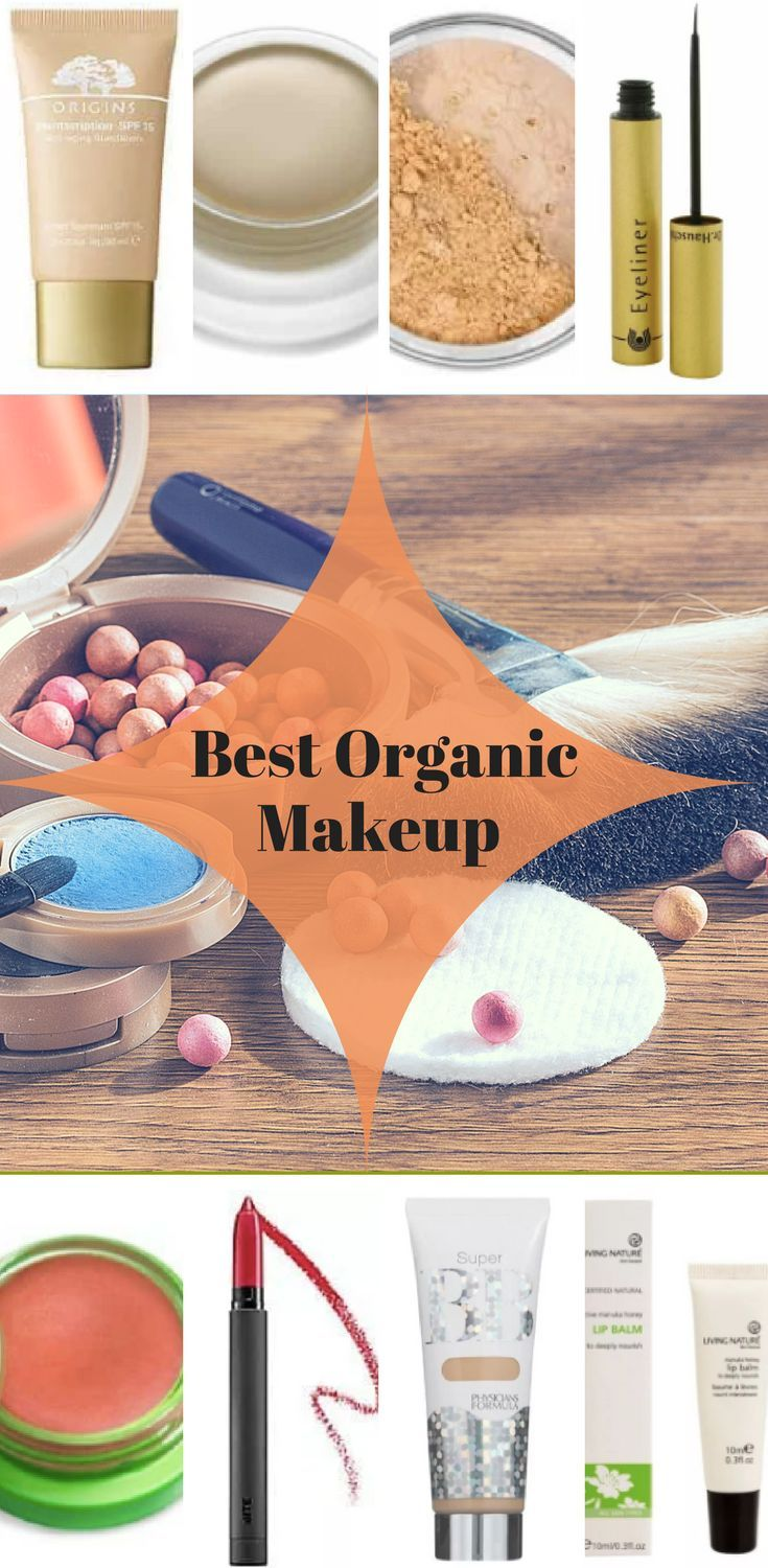 Best Organic Makeup Brands 2018 - Top Certified Organic Makeup List