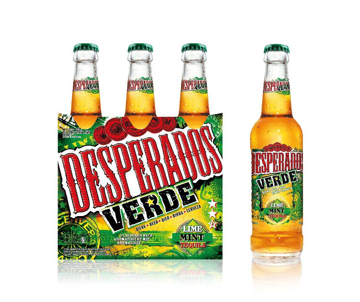 Desperados Verde Beer Buscar Con Google Alcohol Packaging Tequila Beer Creative Packaging Design