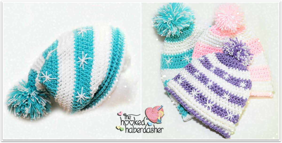 Free Crochet Pattern ~ Snowlicious Slouchy Hat by ...