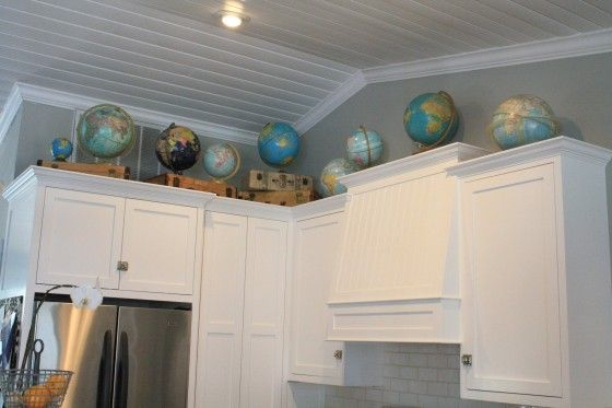 show me what decor is above your kitchen cabinets gbcn - Show Me Kitchen Cabinets