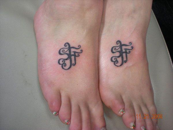 footat.jpg (600×450) | Body art & Tattoos | Pinterest | Friendship ...