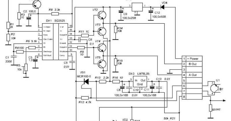 Китайский модуль управления преобразователем на SG3525