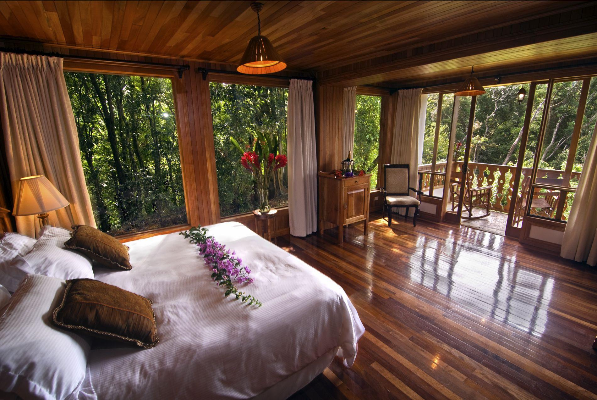 Lovely Belmar Guest Rooms | BelmarBelmar · Forest BedroomWood ...