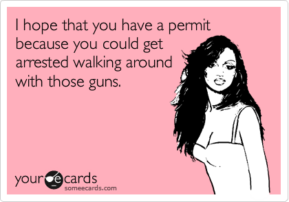 Gun pick up lines