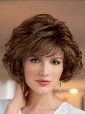 SKU:HW03354; Material:Synthetic; Cap Construction:Capless; Cap Construction:Capless; Length:Short; Hair Style:Wavy; - -