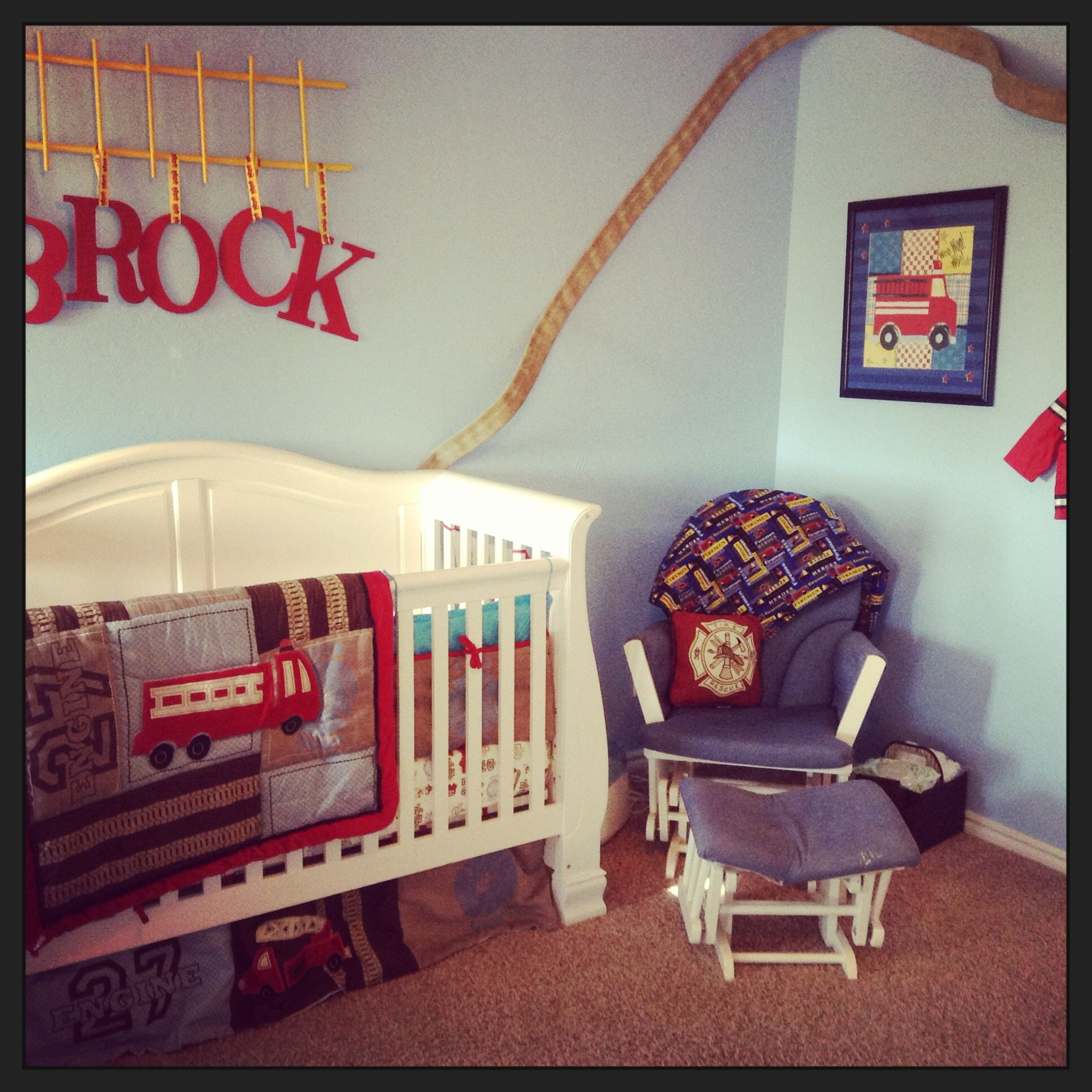 Fire Fighter Nursery Our Son Will Totally Have This Baby Things Pintere