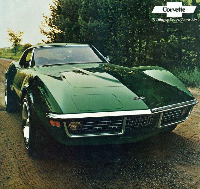 1971 Chevrolet Corvette 454 ci LS5