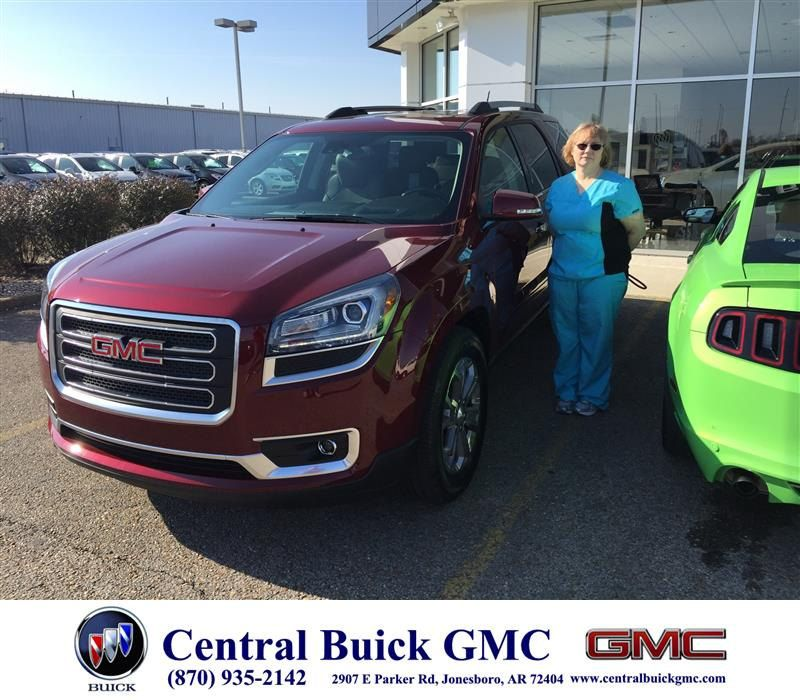Congratulations Cheryl Dale On Your Gmc Acadia From Justin