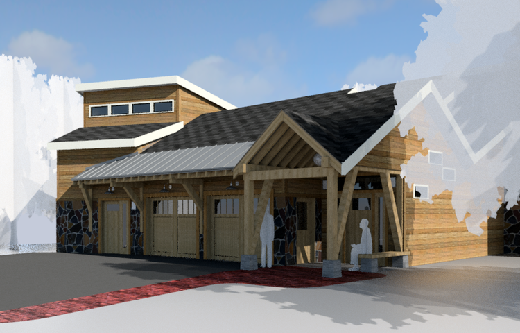 Turnagain Bluff - William Merriman Architects