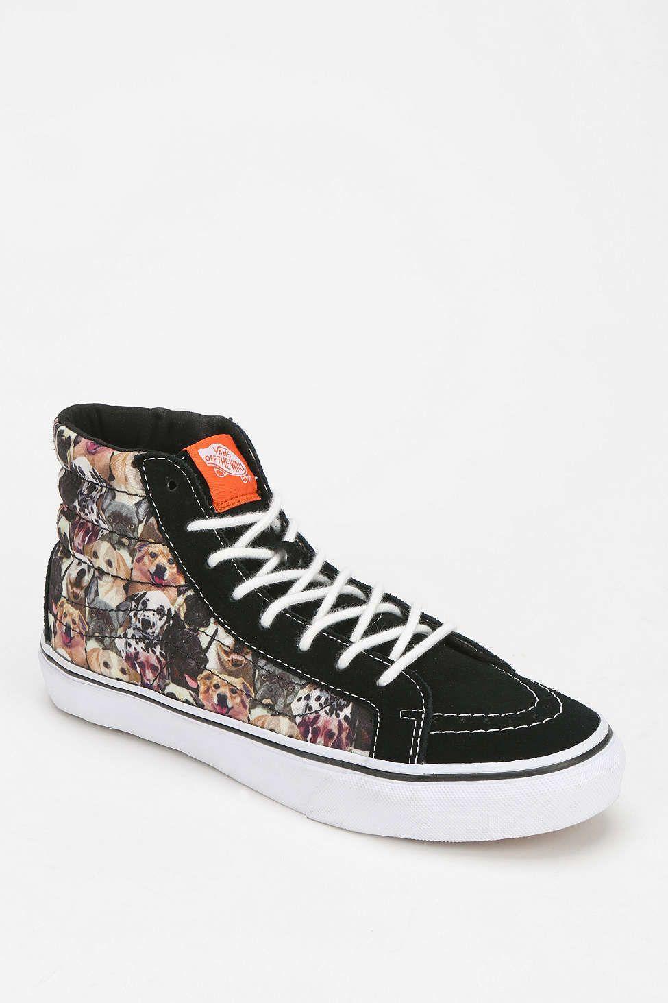 692eaa37c63c48 Vans Sk8-Hi Dog Print Women s High-Top Sneaker