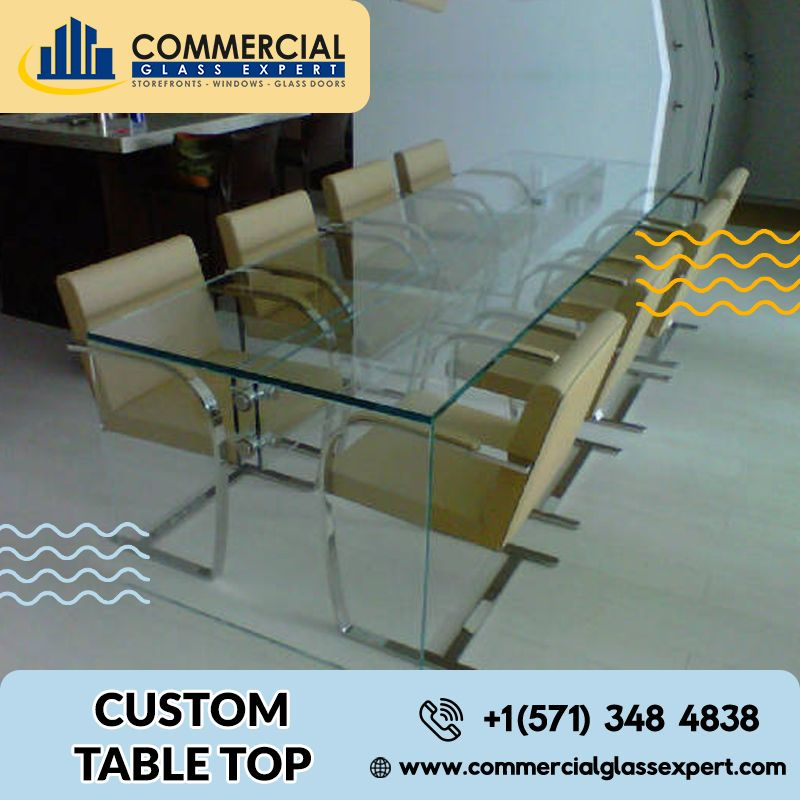 Custom Table Top Custom Table Top Glass Top Table Glass Table