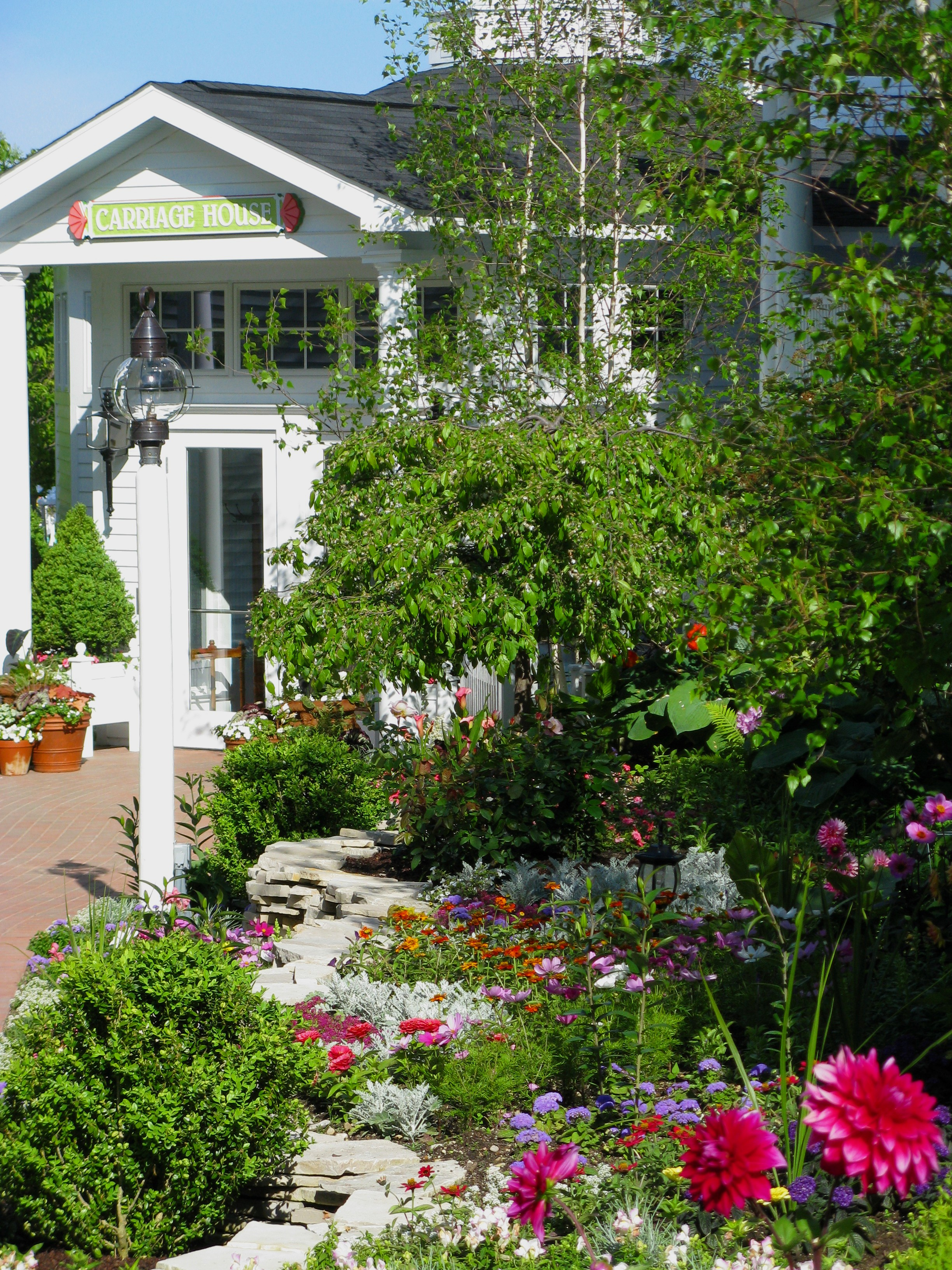 Mackinac Island Carriage House Garden PureMichigan