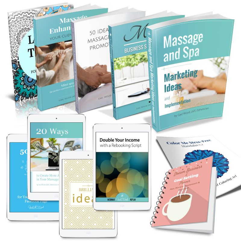 Massage and Spa Infographics to Promote Your Business in