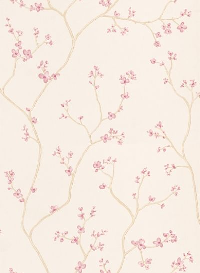 Blossom Tree Pink 3406688 Laura Ashley Wallpapers A Delicate Floral Trail Design Of Oriental Blossoms I Floral Wallpaper Tree Wallpaper Wallpaper Bedroom