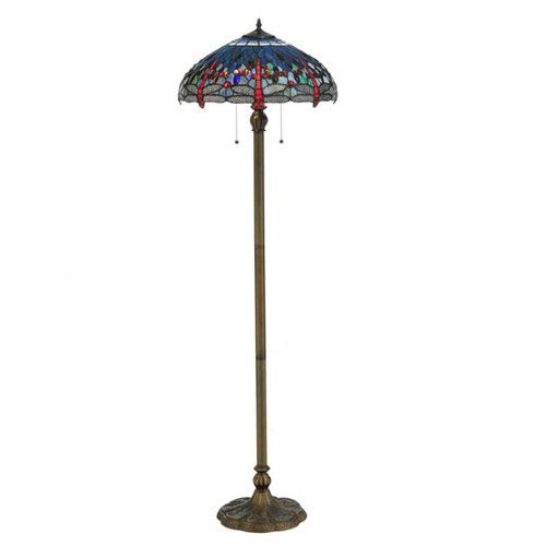 "Found it at Wayfair - Tiffany Hanginghead Dragonfly 60"" Floor Lamp"