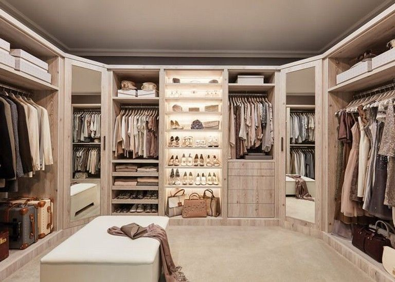 45 Luxurious Modern Dressing Room Design Ideas | Luxury ...