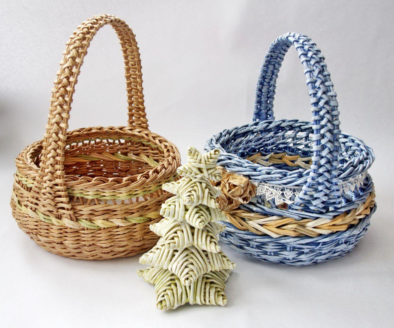 фотографии плетем корзинки из газет с картинками рододендроны для своего