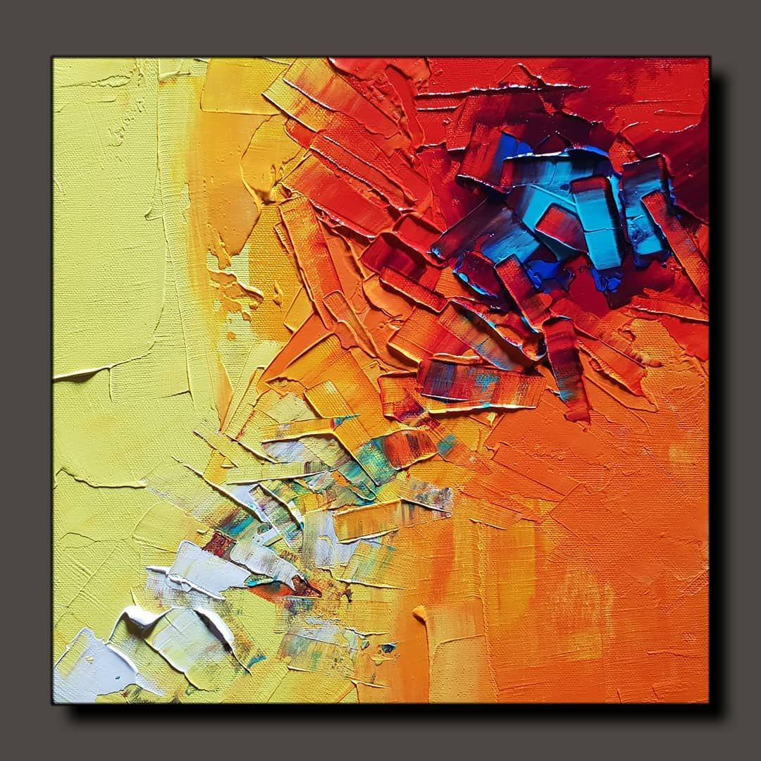 Abstract Painting Painting A Day 0283 Available For Sale