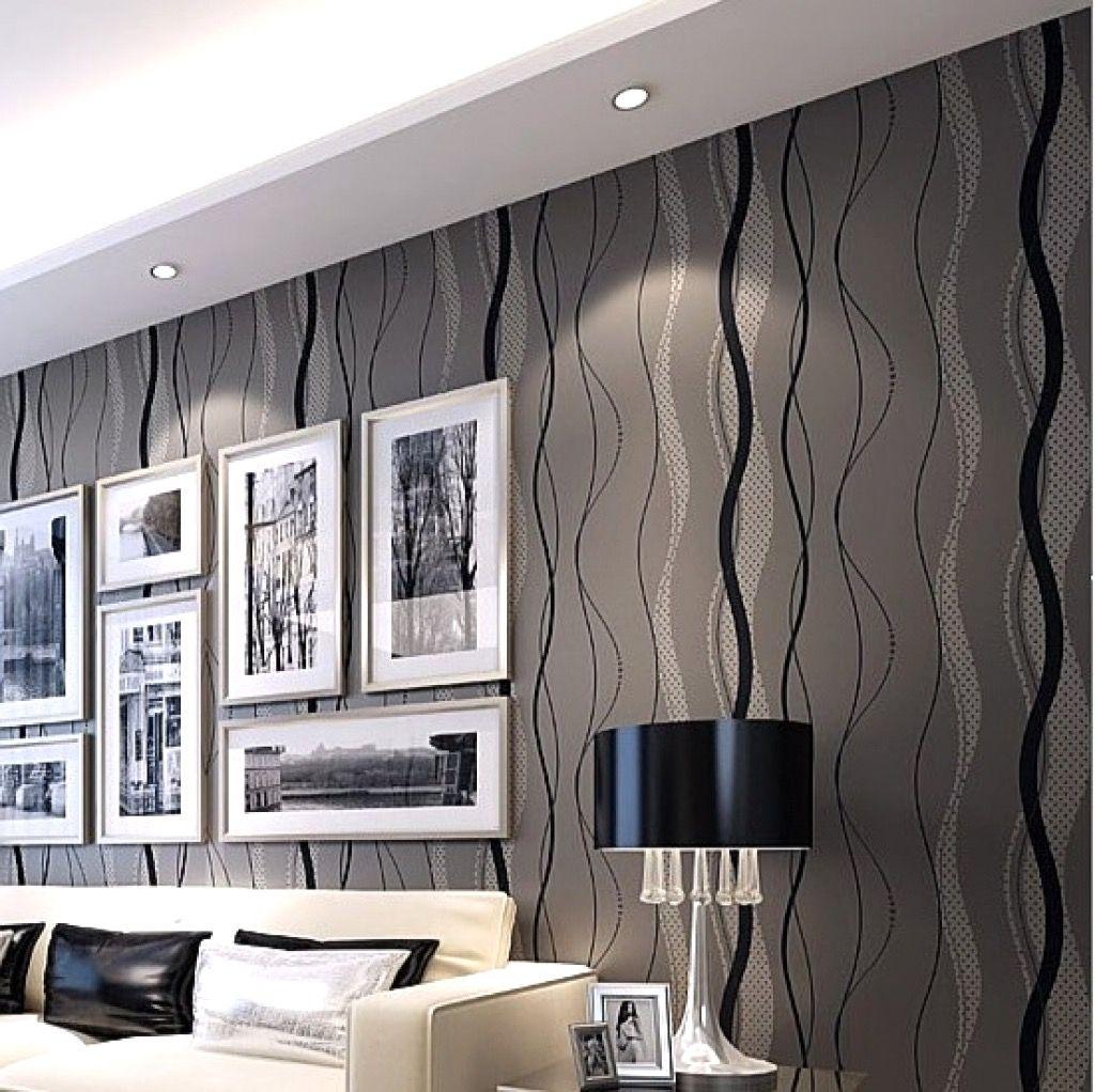 Tapeten Wohnzimmer Modern Grau: Wohnzimmer Tapeten Ideen Modern