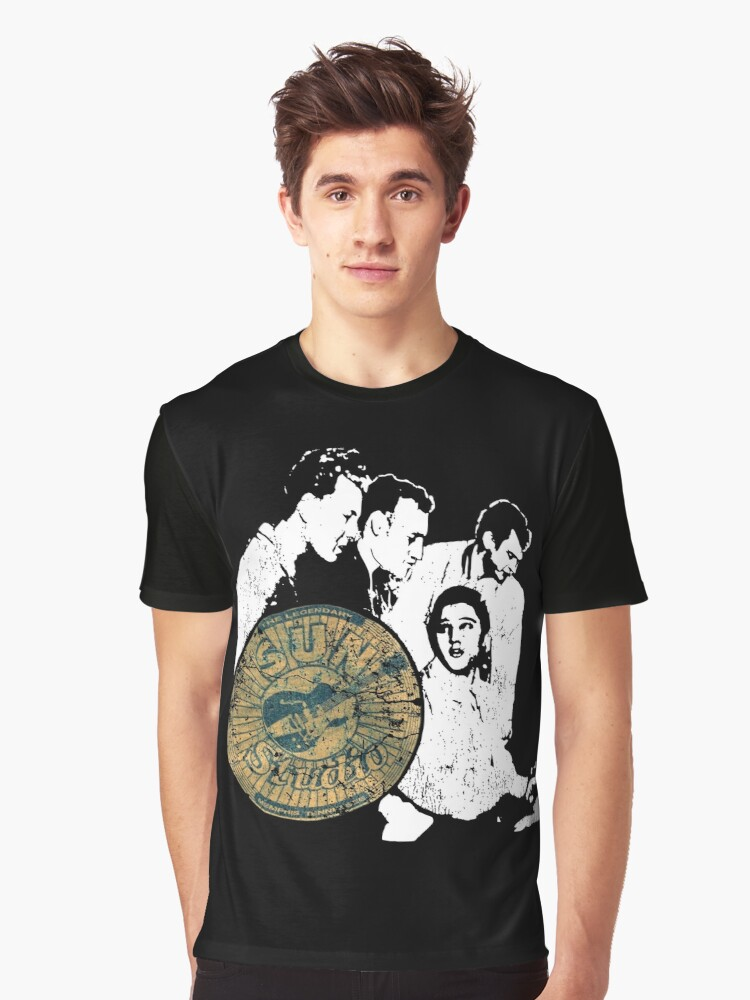 Original old SUN Records Elvis, Johnny Cash T shirt design