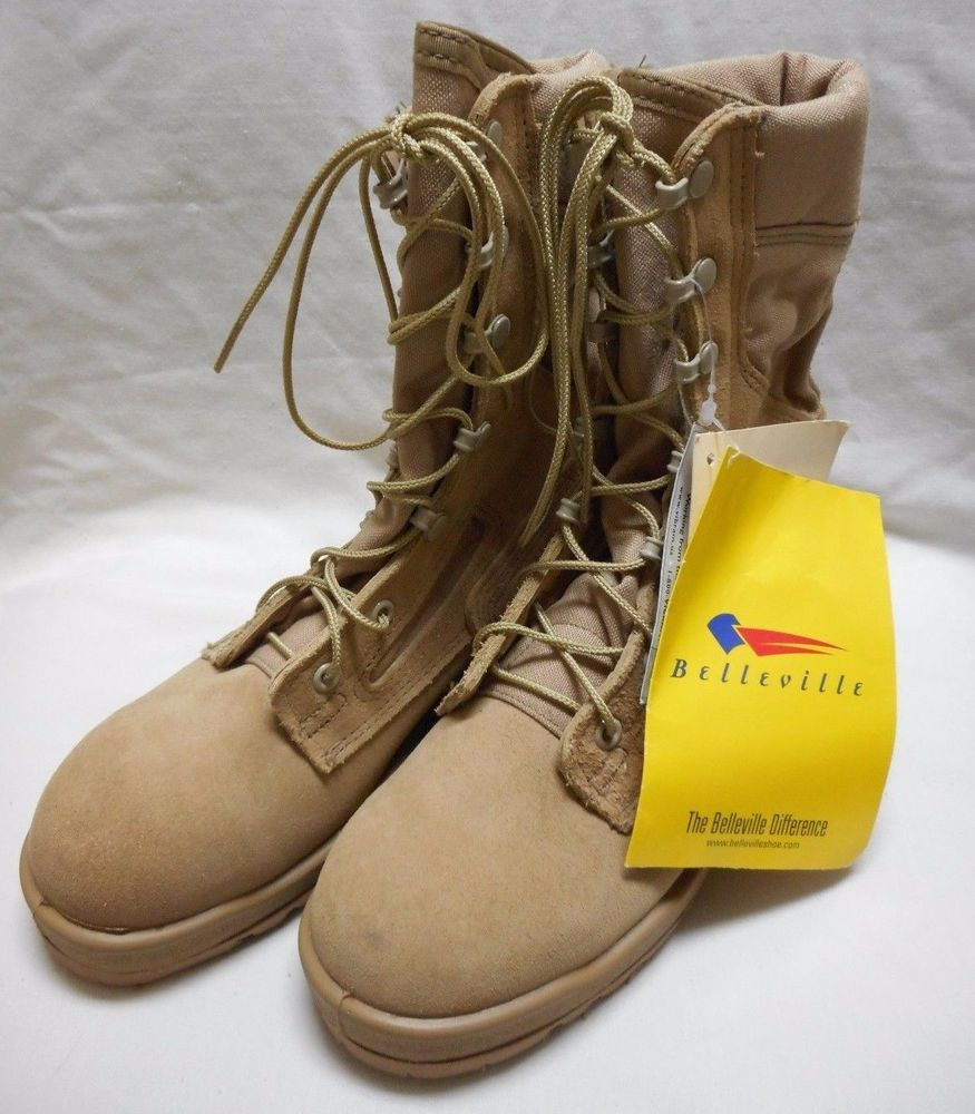 ab79cc898a9 Nwt belleville hot weather flame resistant boots, 340des, tan, size ...