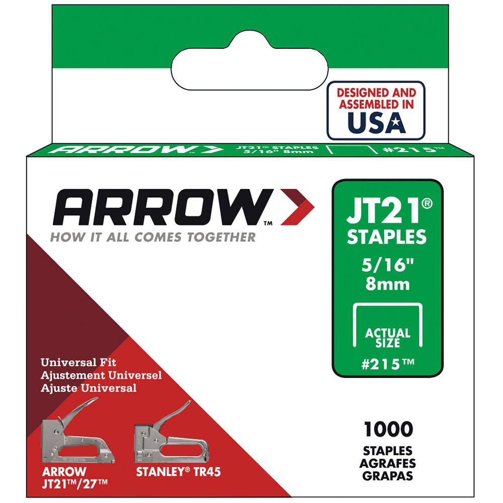 Arrow jt21 516 staples pack of 1000 staples how to