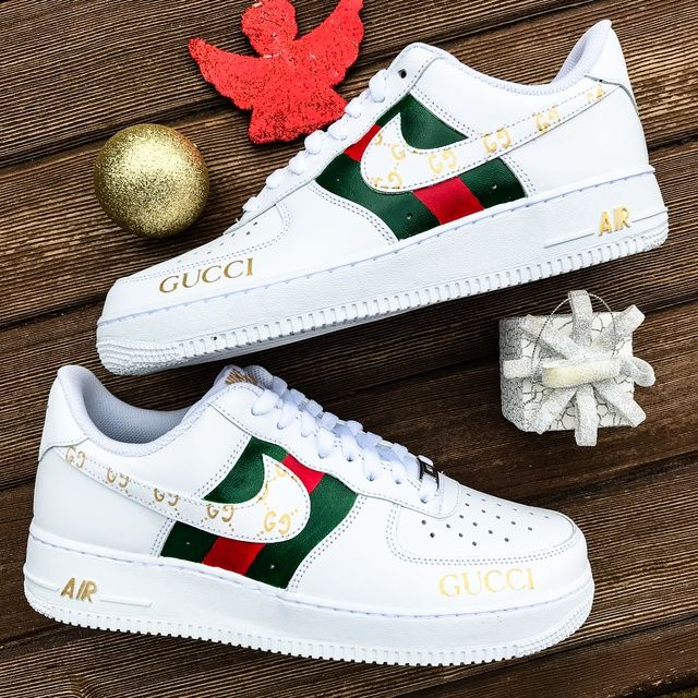 Custom Nike Air Force 1 х Gucci Custom nike shoes