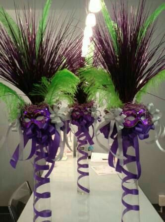 Pin by milley on decoracion pinterest mardi gras mardi gra crafts masquerade centerpiecessports centerpiecesbaseball centerpiecemasquerade themebaseball wedding junglespirit Gallery