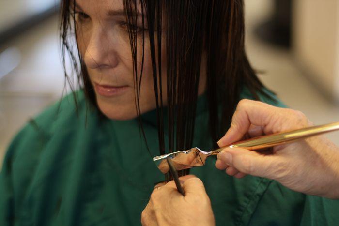 Mehr Volumen für meine Haare: Calligraphy Cut