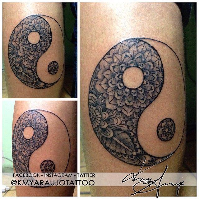 tattoo ying yang - Pesquisa Google   Tattoos Ying Yang   Pinterest ...