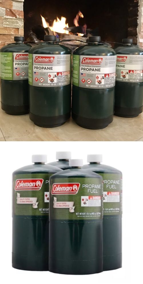 Parts and Accessories 181389: Coleman 4 Pk Propane Fuel Bottle Cylinder 16 Oz Camping Stove Gas Prop Tank 16.4 -> BUY IT NOW ONLY: $41.99 on eBay!
