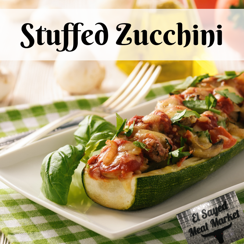 Quick And Easy Stuffed Zucchini Saute Our Fresh Ground Beef With Mushrooms And Onions And Stuff It In A Z Beef With Mushroom Beef Recipes Mushroom And Onions
