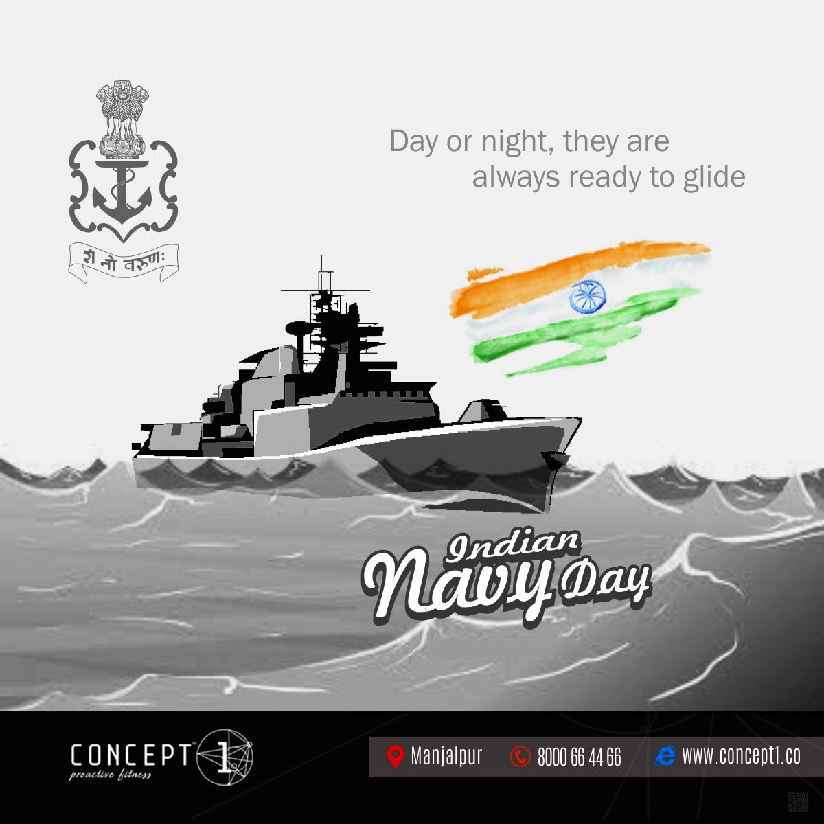 Day Or Night They Are Always Ready To Glide Indian Navy Day Concept1 Proactivefitness Fitness Gym Indian Na Navy Day Indian Navy Day Happy National Day