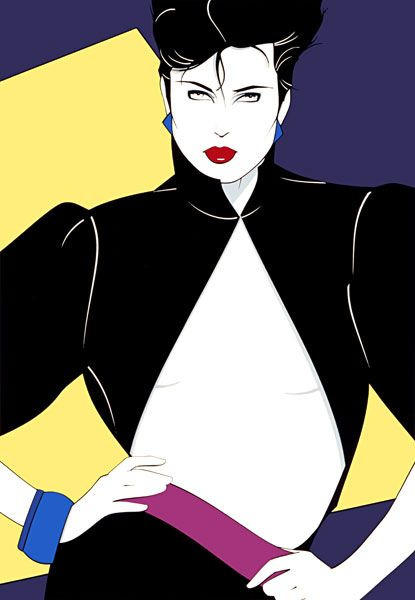 Patrick Nagel Illustration Prints Nagel Art