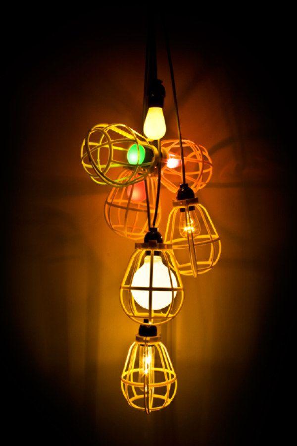 DIY Wire Basket Lighting Ideas - Creative Home Lighting ...