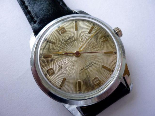 Vintage Creation Ancre 17 Jewels Swiss Wrist Watch Incabloc Antimagnetic 1950'S   eBay