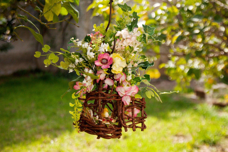 Bird Cage Decor Table Floral Arrangement Centerpiece Table Flower