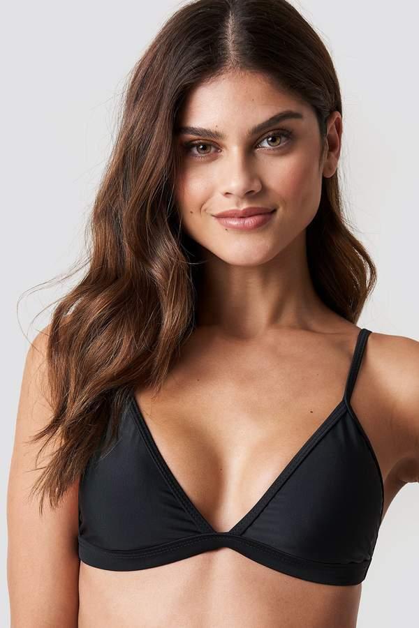 b6ab2b57066 Hot Anatomy Triangle Bikini Top Dark Grey