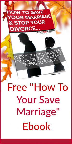 How to save your marriage when one wants out
