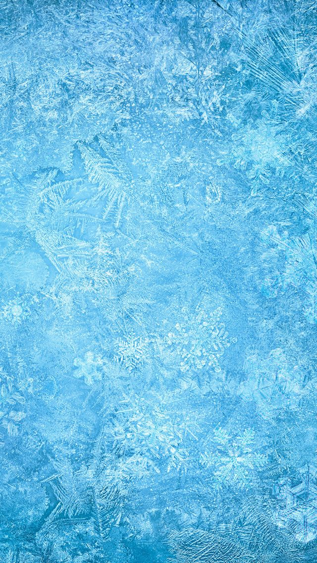 Frozen Ice Snowflake  E2 98 86 Find More Winter Wonderland Iphone Android Wallpapers At Prettywallpaper