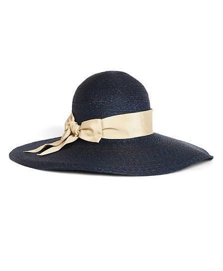 b606abc7ff034 Milan Straw Portrait Hat by Brooks Brothers