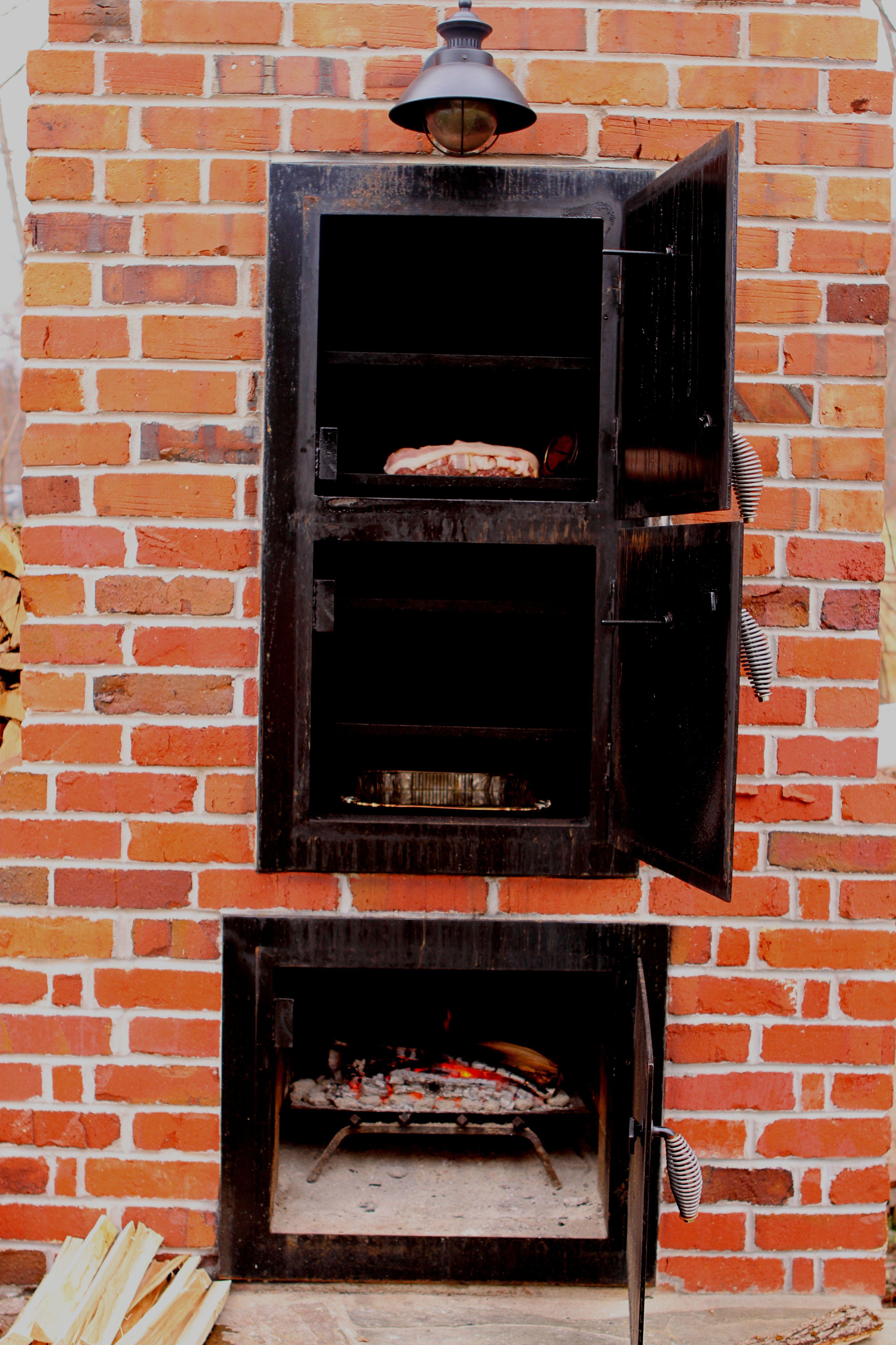 Brick smoker compete how to brick smoker backyard