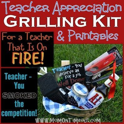 Teacher gifts - male teacher