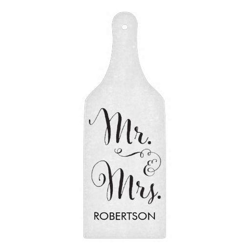 Mr. and Mrs. Cutting Board