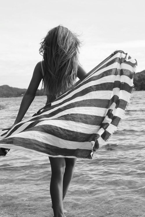 A Perfect Beach Towel For The 4thofjuly With Images Beach