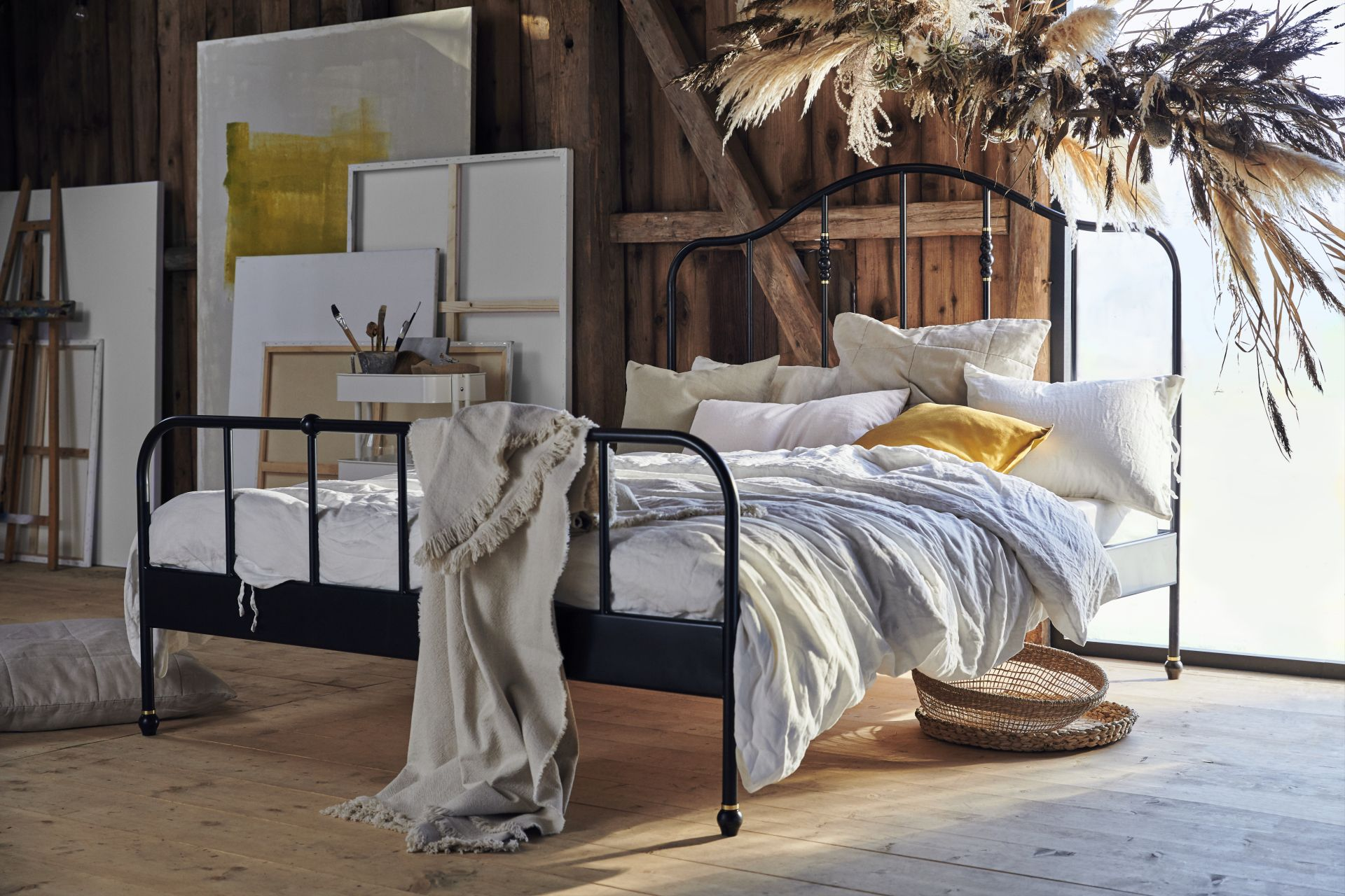 Introducing Sagstua A Classic Bed Frame With A Brass Twist The
